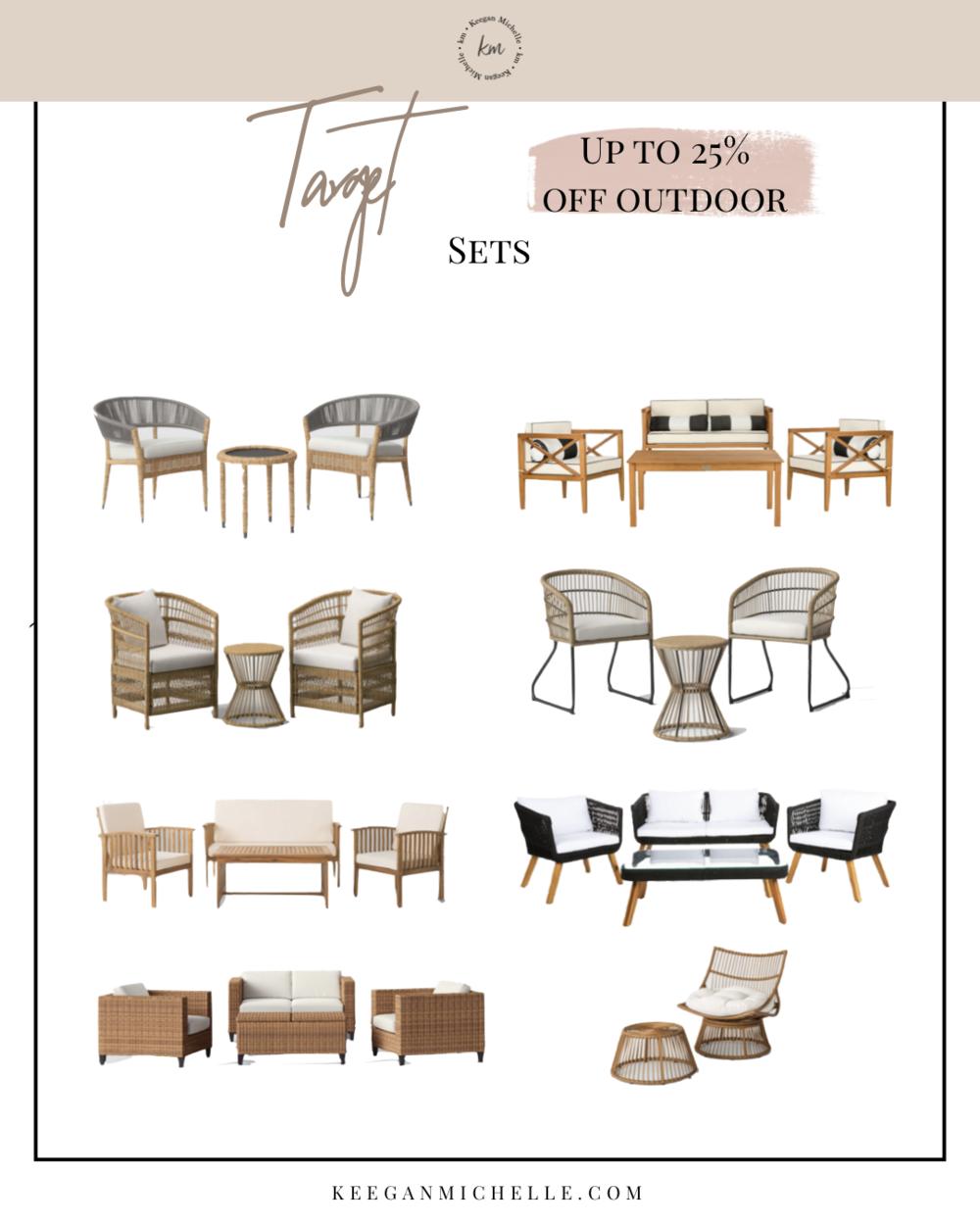 Target Patio Furniture Sale
